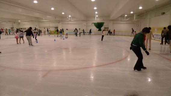 江戸川区スポーツランドスケートリンク
