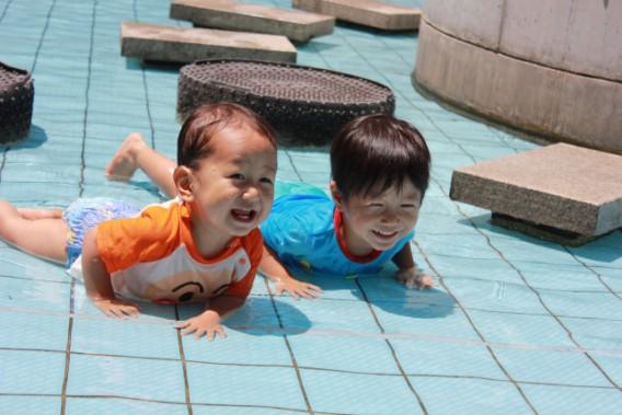 夏だ!葛西・西葛西の水遊びができる親水公園を紹介します。